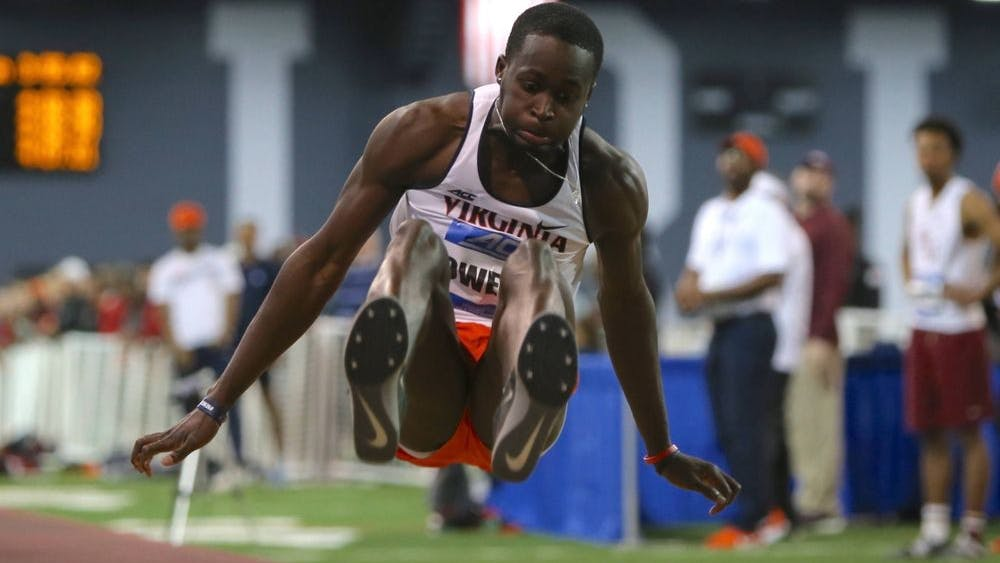 After placing second at last year's ACC Indoor Championships, sophomore triple jumper Owayne Owens will look to top the podium this year.
