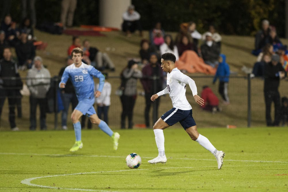 <p>With the loss of forward Daryl Dike to the MLS, senior forward Nathaniel Crofts will have to step up to fill the huge hole Dike leaves in the Virginia offense.&nbsp;</p>