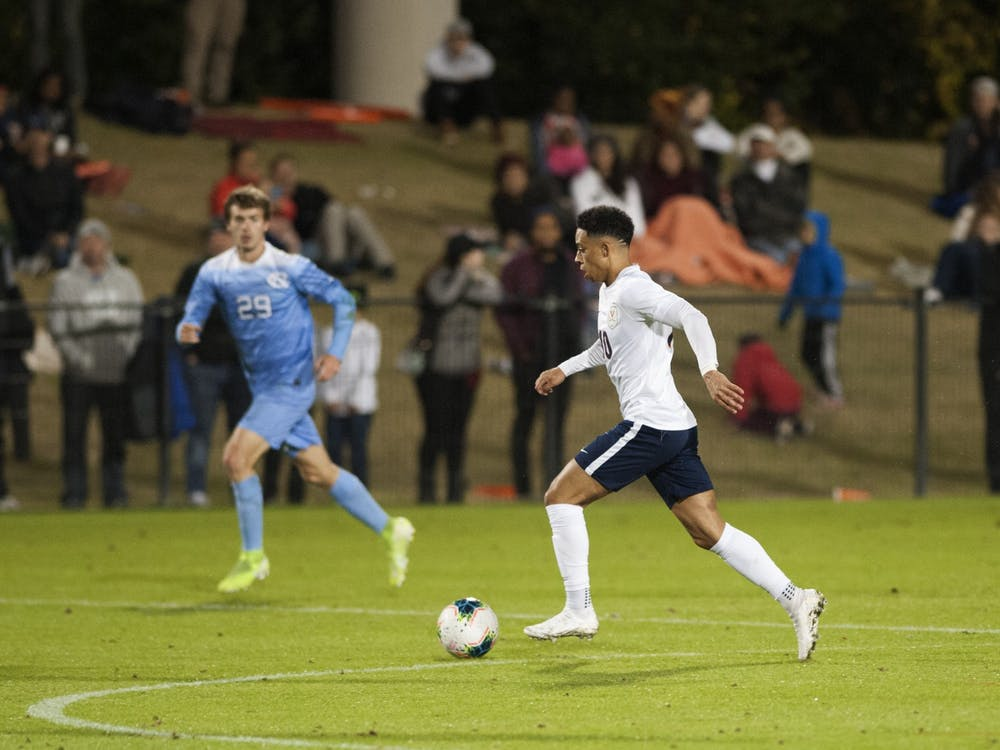 With the loss of forward Daryl Dike to the MLS, senior forward Nathaniel Crofts will have to step up to fill the huge hole Dike leaves in the Virginia offense.