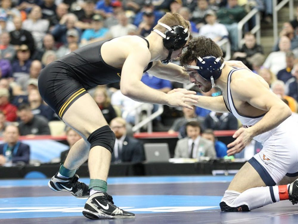 Junior Jack Mueller secured second place at the NCAA Championships at 125 pounds.