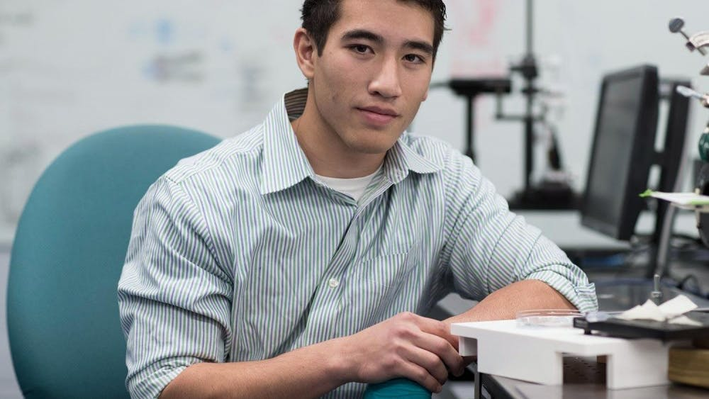 Third-year Engineering student Matthew Asper is an Aerospace Engineering major and Material Science Engineering minor.