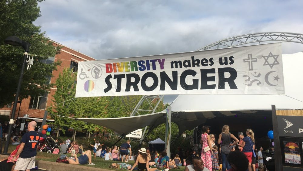 Although Pride is celebrated all over the world, many who come to Charlottesville Pride appreciate its efforts to make everyone feel included and engaged.
