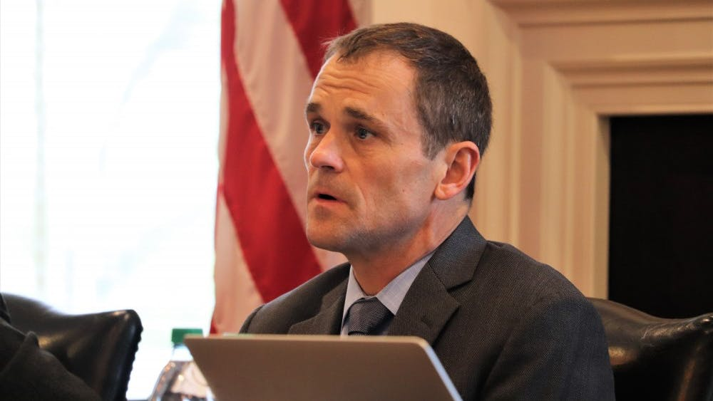 University President Jim Ryan said it was important for the board to accept the General Assembly's proposal as it represented a rare acknowledgement by the legislative body of the relationship between tuition and state funding.