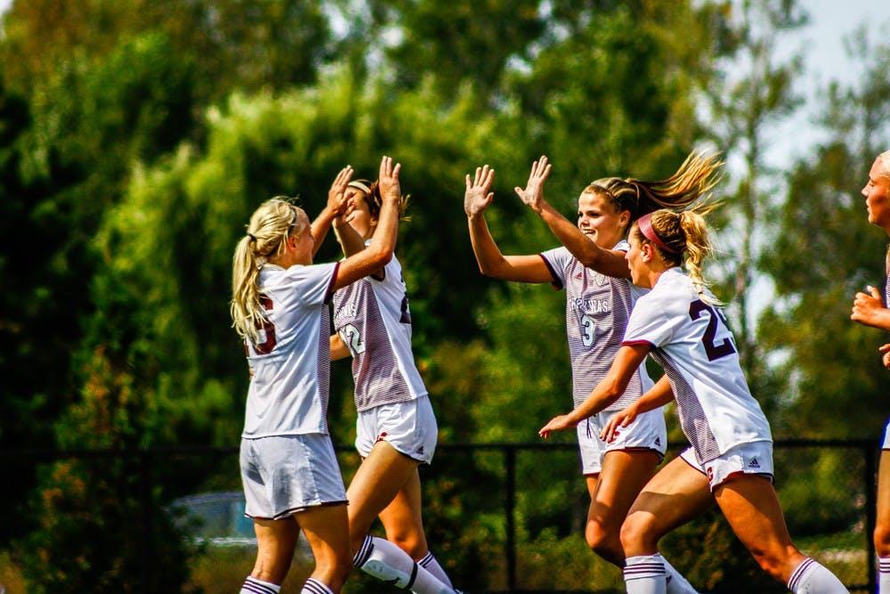 Women's Soccer Vs. Detroit Mercy4723