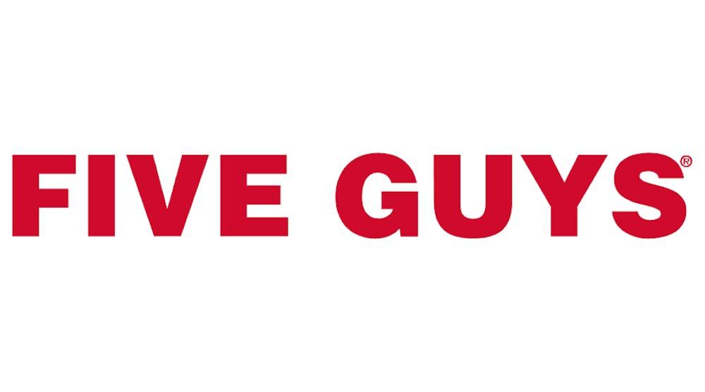five-guys-logo-vector