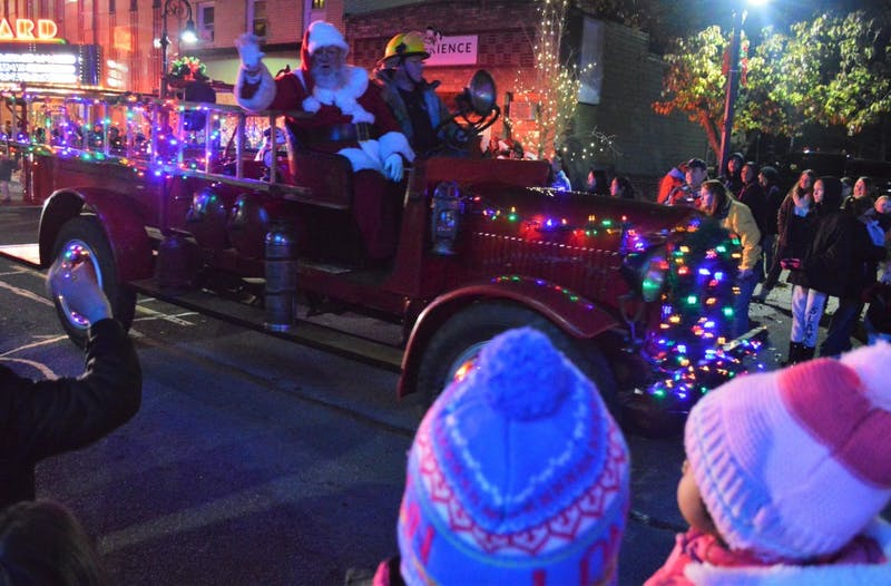 thousands take part in 24th annual mount pleasant christmas celebration - Mount Pleasant Christmas Parade