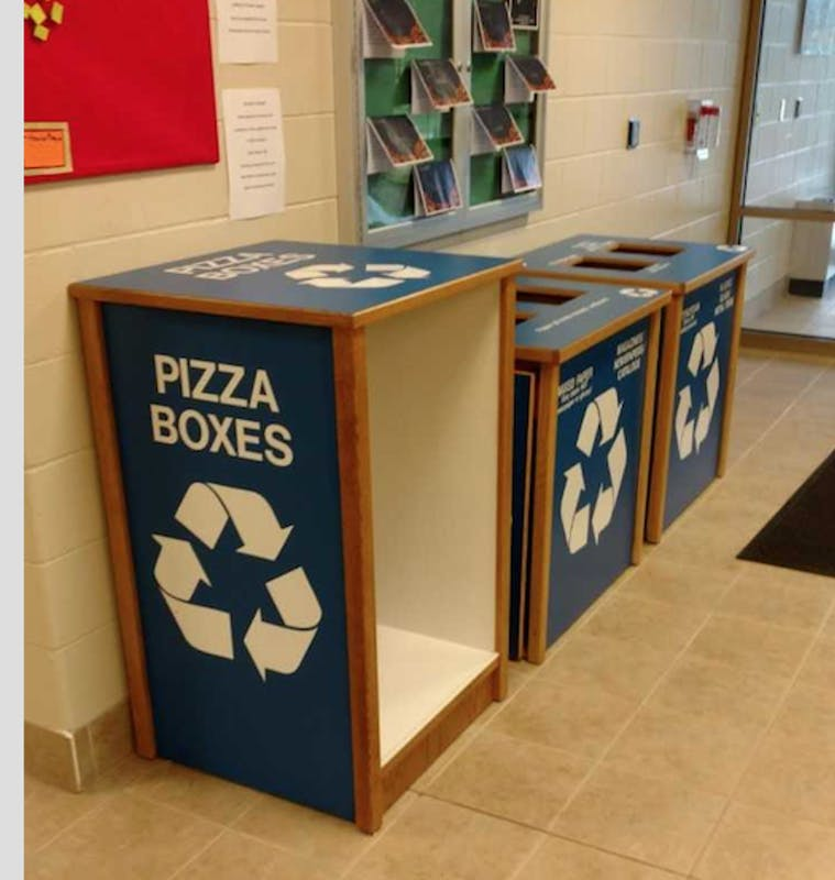 pizza box recycling