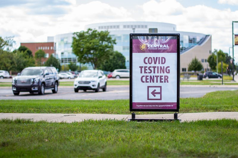 covid testing sign 1