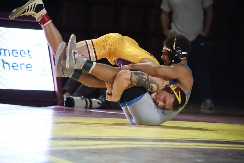 CMU Wrestling 2-7-2020