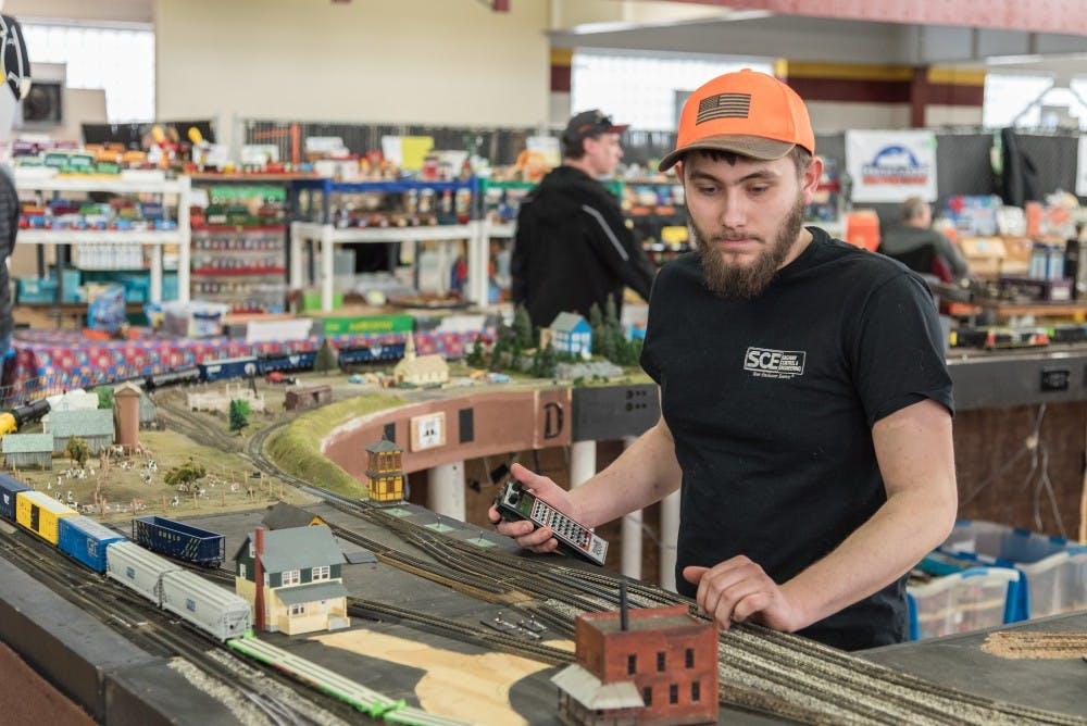 Central Michigan Life - Model train collectors gather in