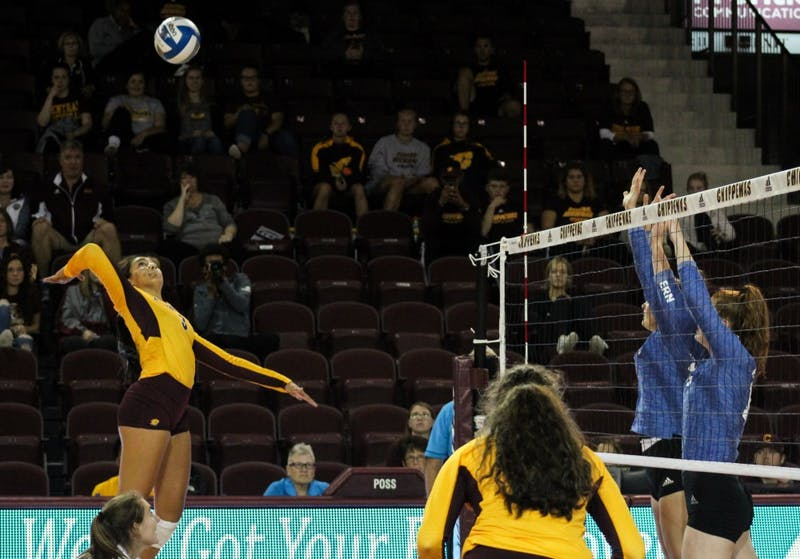 CMU Volleyball 3