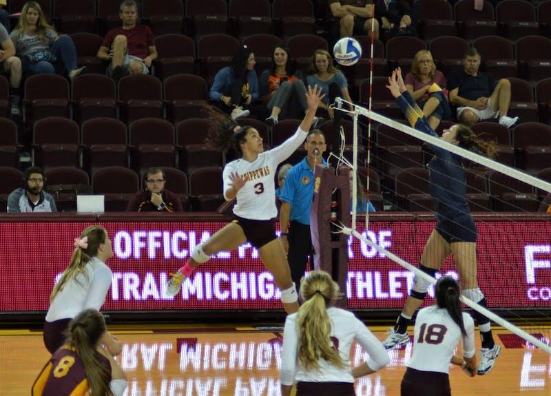 CMU Volleyball vs Kent State
