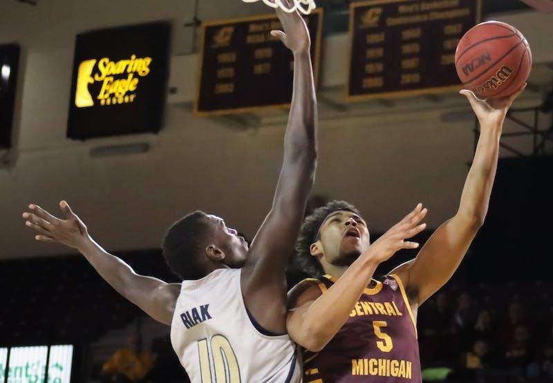 CMU basketball 2-14-2020