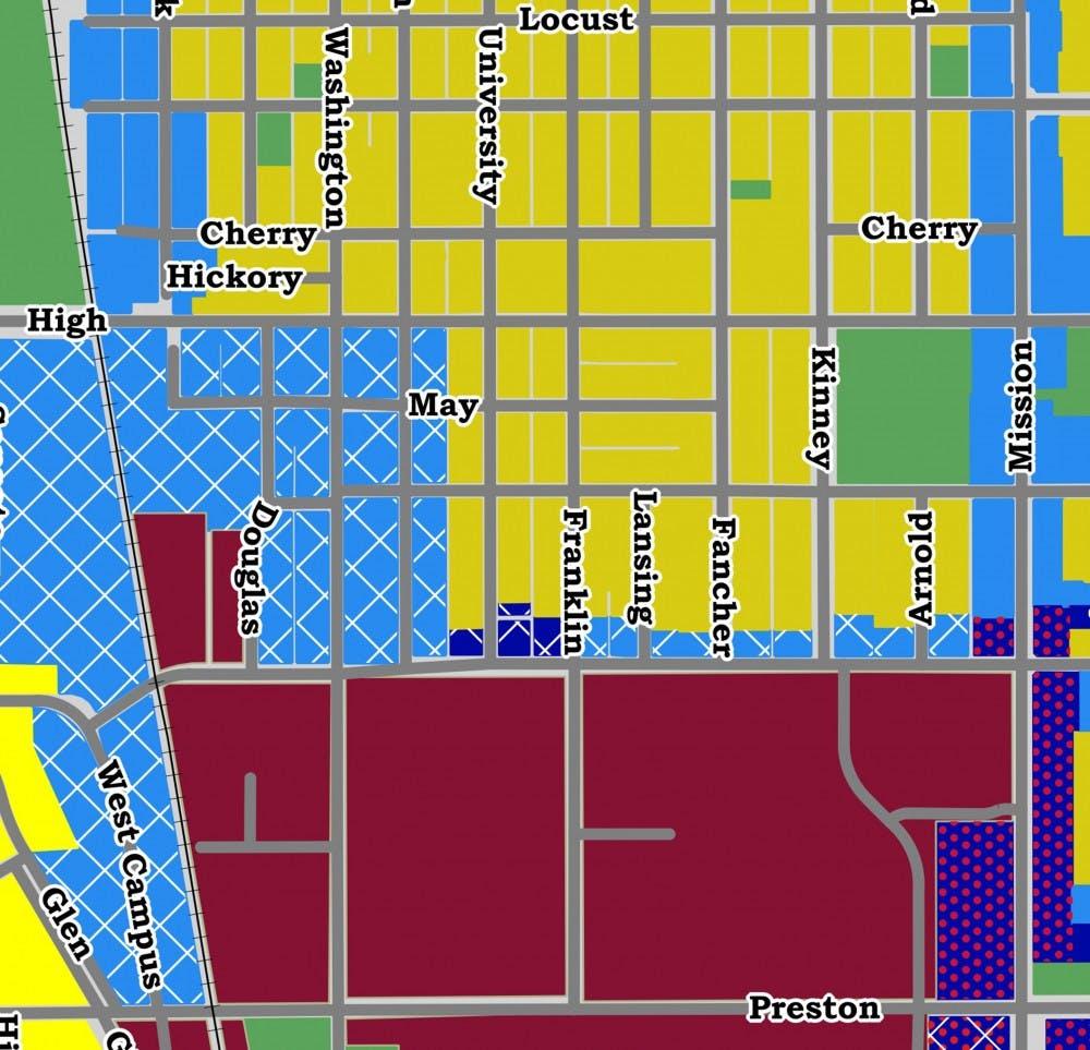 draft ordinance map