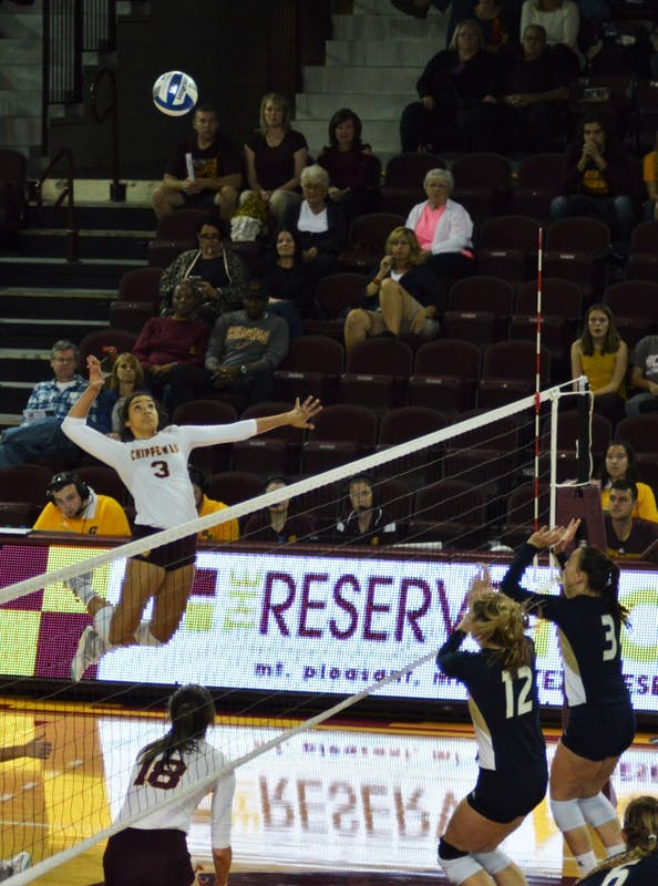 Volleyball vs Akron