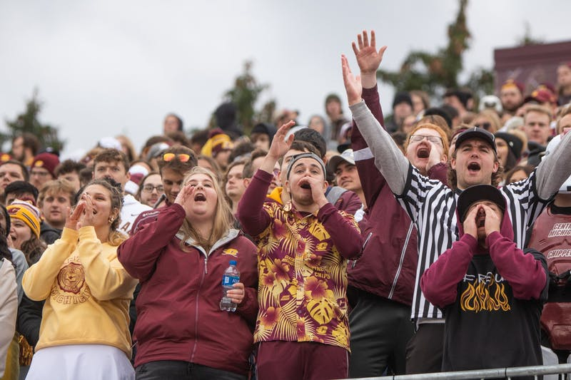 GALLERY: In the stands at the 2021 Homecoming game