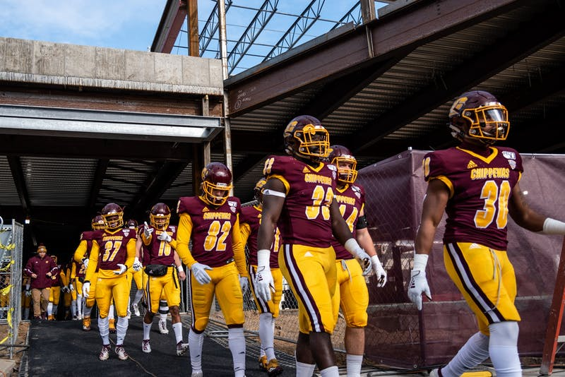Central Michigan Football Nov 2 - 50