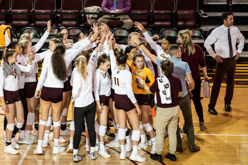 Central Michigan Volleyball