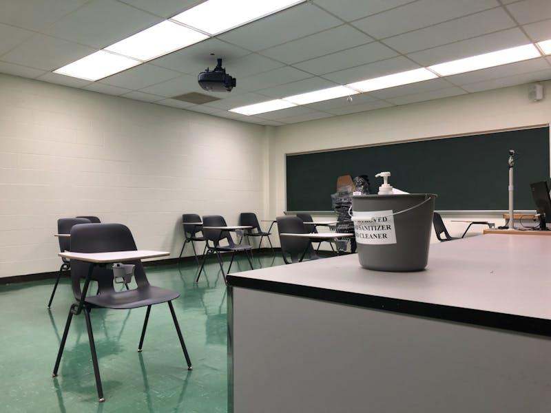 Moore Hall Quiet Study Room 1