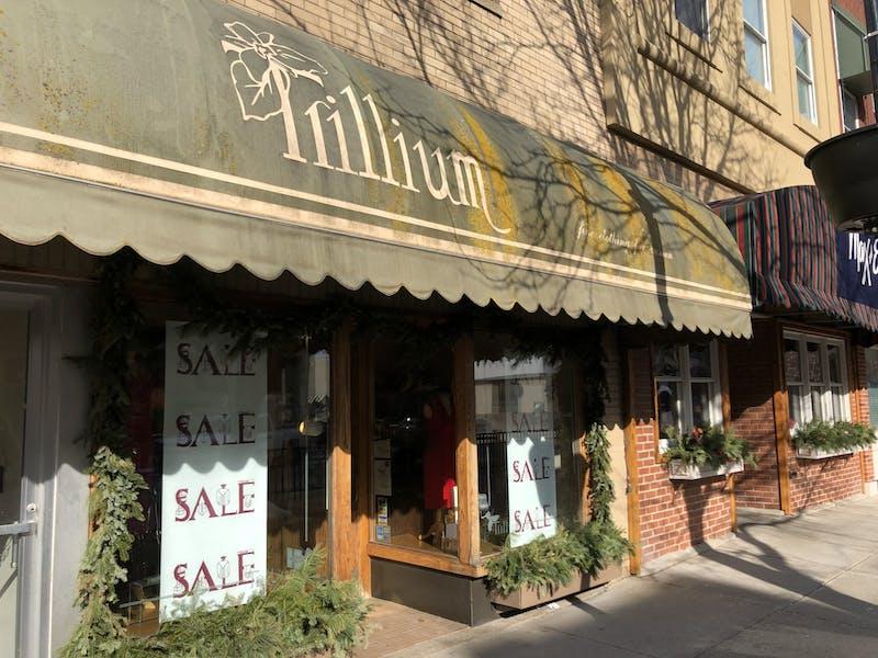 Trillium store front