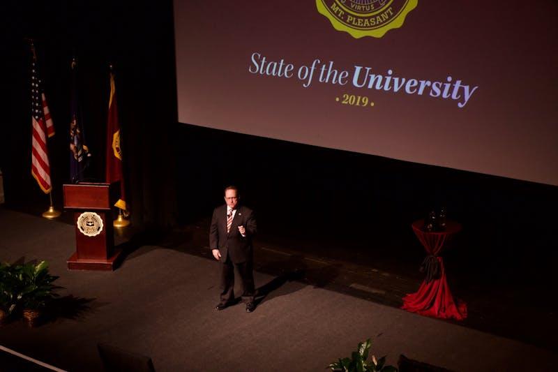 President Davies State of the University address 2