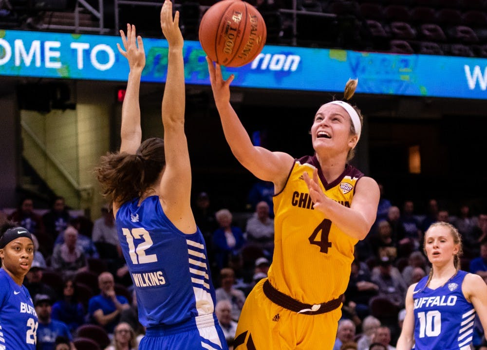 Central Michigan Life Women S Basketball Unveils Full 2019