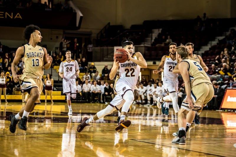 CMU Basketball v. Mont. State
