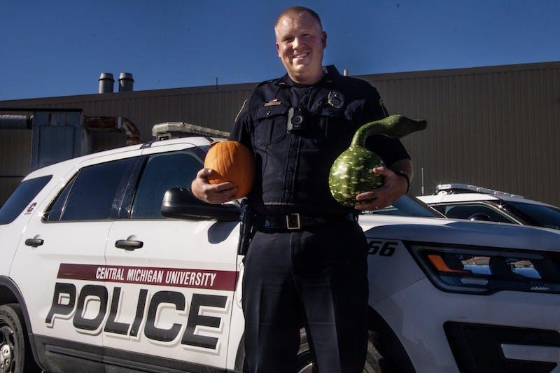 Cop/gourd farmer portrait