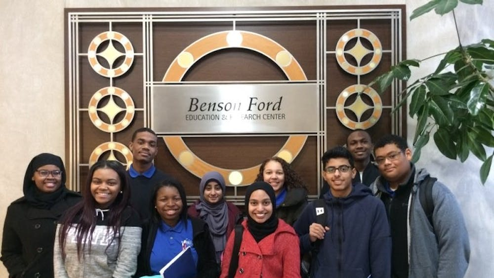 This group ofBCHS juniors has been given a special opportunity through Henry Ford Health