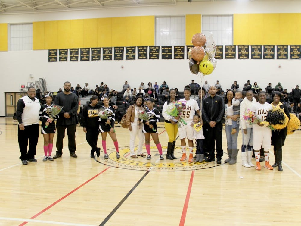 Senior athletes are honored for their dedication to King.