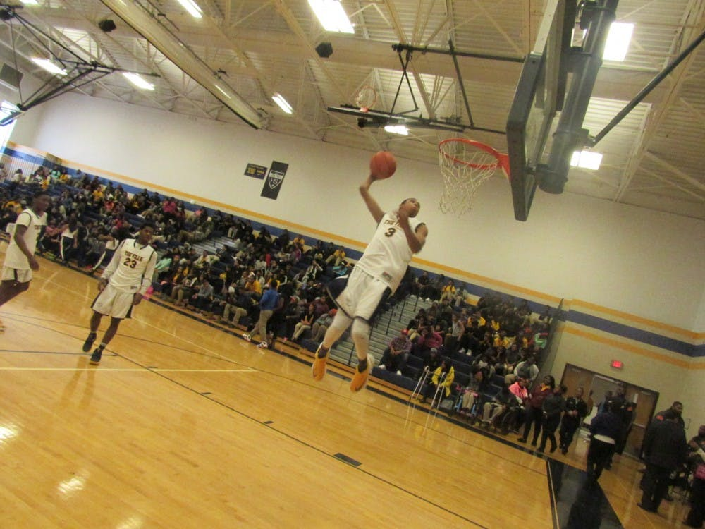<p>Gregory Elliott has been playing basketball since he was 7 years old, but it wasn't until he was in the sixth grade that he realized he wanted to pursue a career in basketball.</p>
