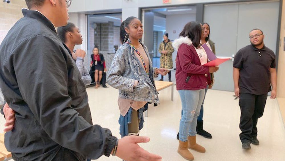During the nine-week program/course, students learned basic camera operations, studio lighting, photo editing, and entrepreneurial skills. After the course was over, the 21 students' work was showcased at a photo art exhibit in DSA's art gallery.