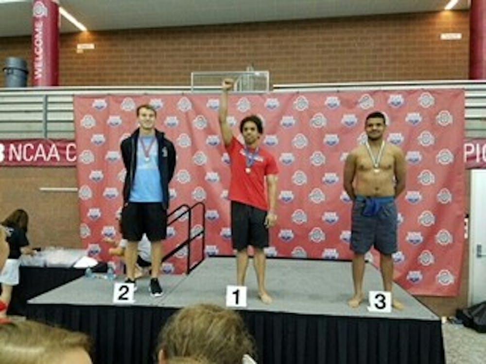 <p>Brian&nbsp;Williams has been a member of Mumford High School's team and the Detroit Recreation Swim Team.</p>