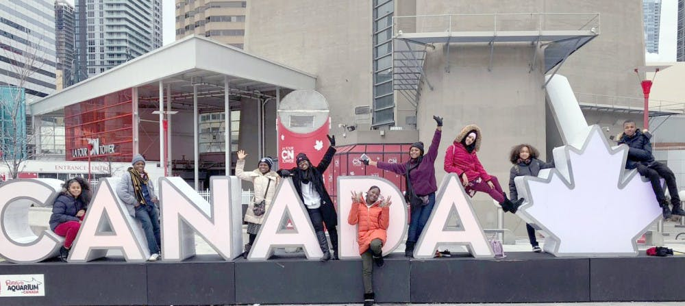<p>Goes Global's ninth graders visited Toronto, Canada.</p>