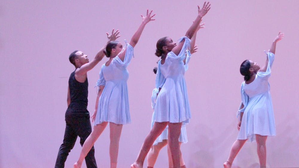 "On Sunday during the 2020 MLK Legacy Awards, King's Dance Workshop performs to ""Glory."""