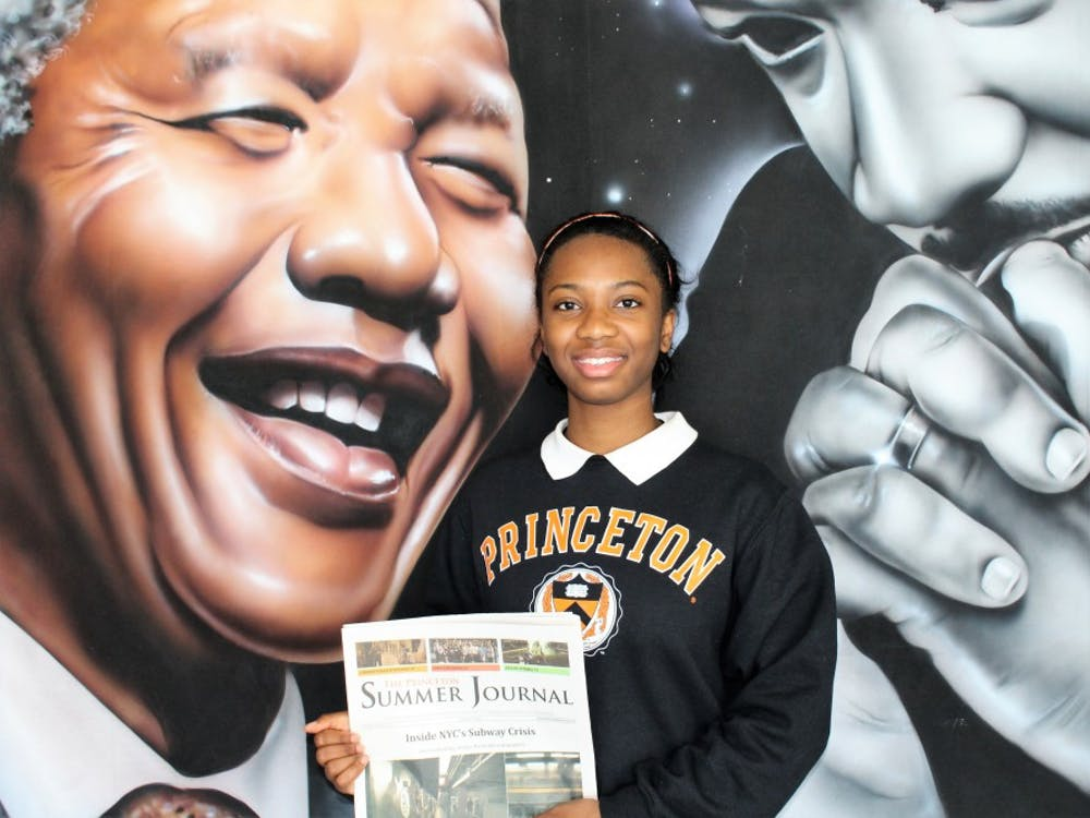 Senior Alana Burke was one of 39 high school students accepted from across the U.S. into Princeton's Summer Journalism Program.