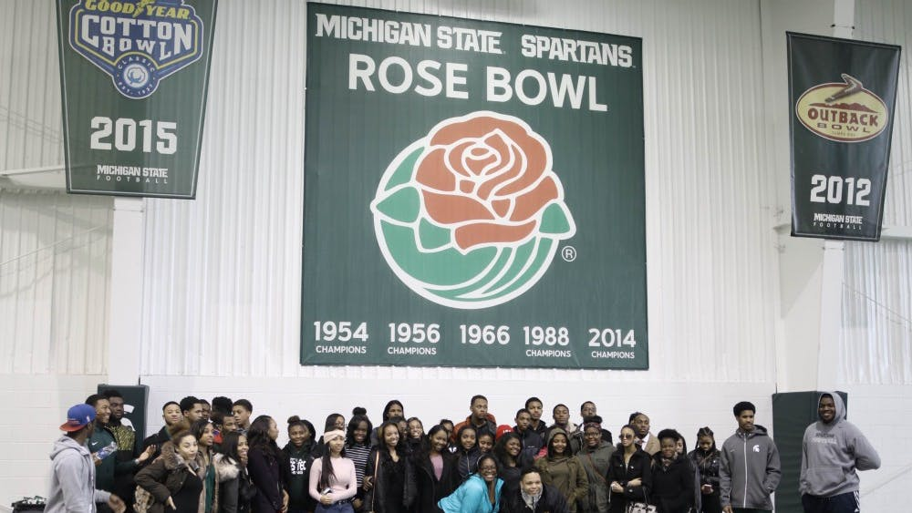 Cass Tech visited Michigan State on Feb. 23.