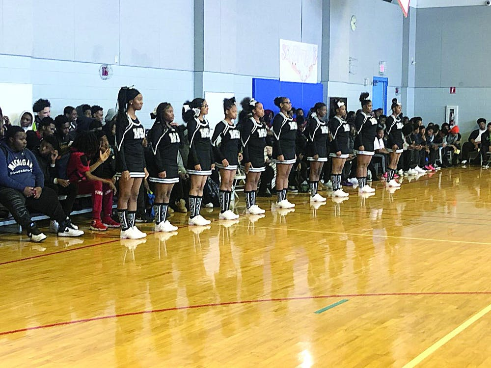 <p>WSA's cheer and dance teams showed off their skills and performed for the crowd.</p>