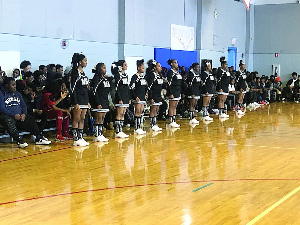 WSA's cheer and dance teams showed off their skills and performed for the crowd.