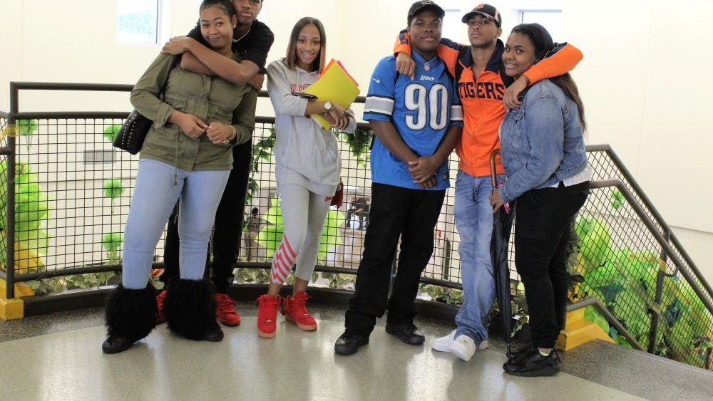 Seniors Asia Montgomery, Messiah Hicks, LaKharia McKinney, Khary Martin, Darian Rucker and MaKayla Montgomery have formed lasting friendships over the last four years.