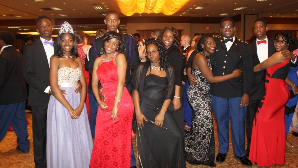 The annual Military Ball was held on May 6 at Burton Manor. This event was a fashion extravaganza with a burst of colorful ball gowns.The celebration included many JROTC schools from around the State of Michigan.