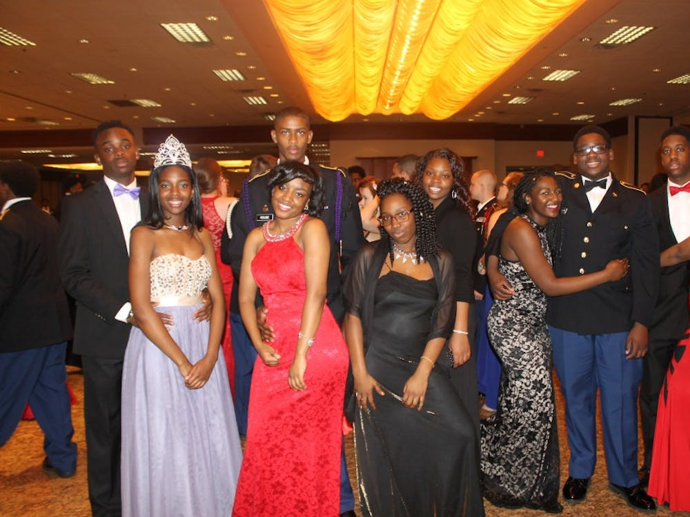 The annual Military Ball was held on May 6 at Burton Manor. This event was a fashion extravaganza with a burst of colorful ball gowns. The celebration included many JROTC schools from around the State of Michigan.