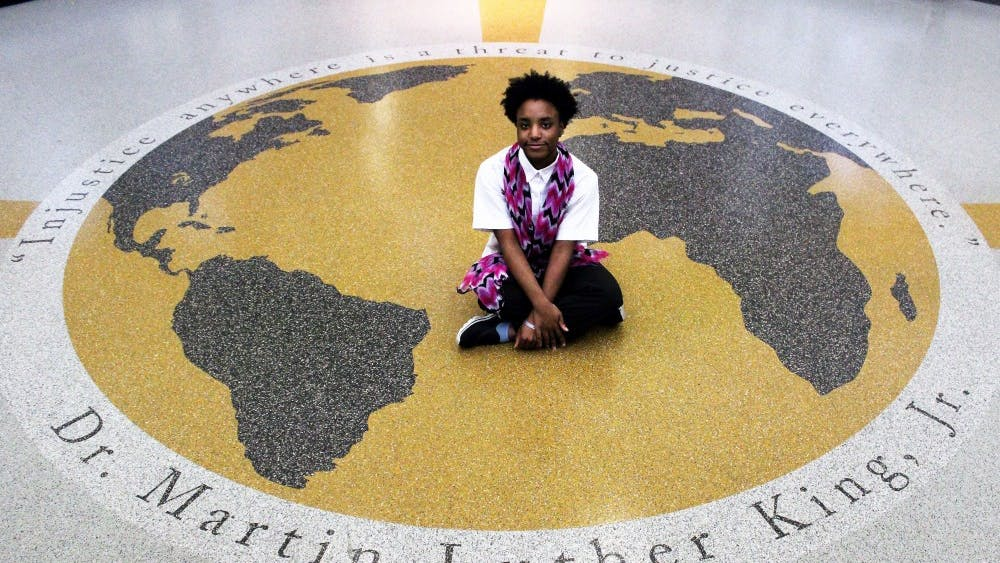 Senior Shalonda Shamily's career goal is to be a translator and being an exchange student could help her.