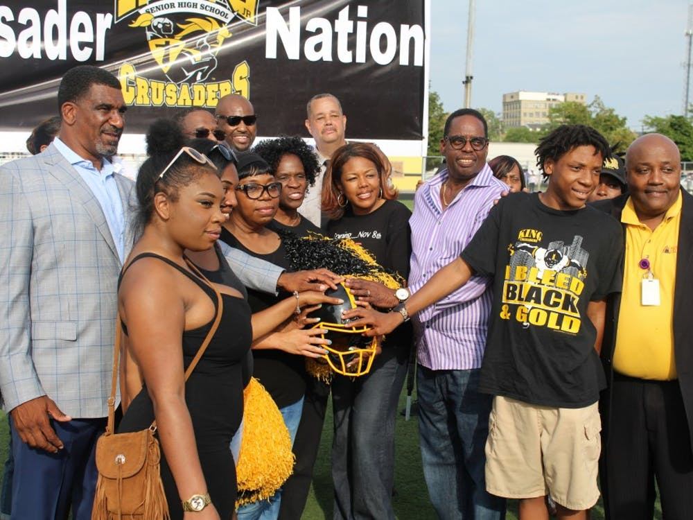 Last monththe Detroit Public Schools Community District's athletics department honored the late Dale Harvel for 33 years of service to students.