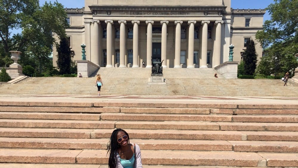 CT Visionary's Mackenzie Galloway attended a Creative Writing Camp at Columbia University in New York during the summer of 2016. Galloway encourages students to step outside of the local box when seeking educational opportunities.