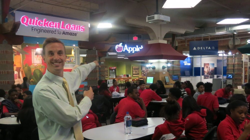 All students in economics classes at UPrep attended a field trip to Quicken Loans Junior Achievement Finance Park.