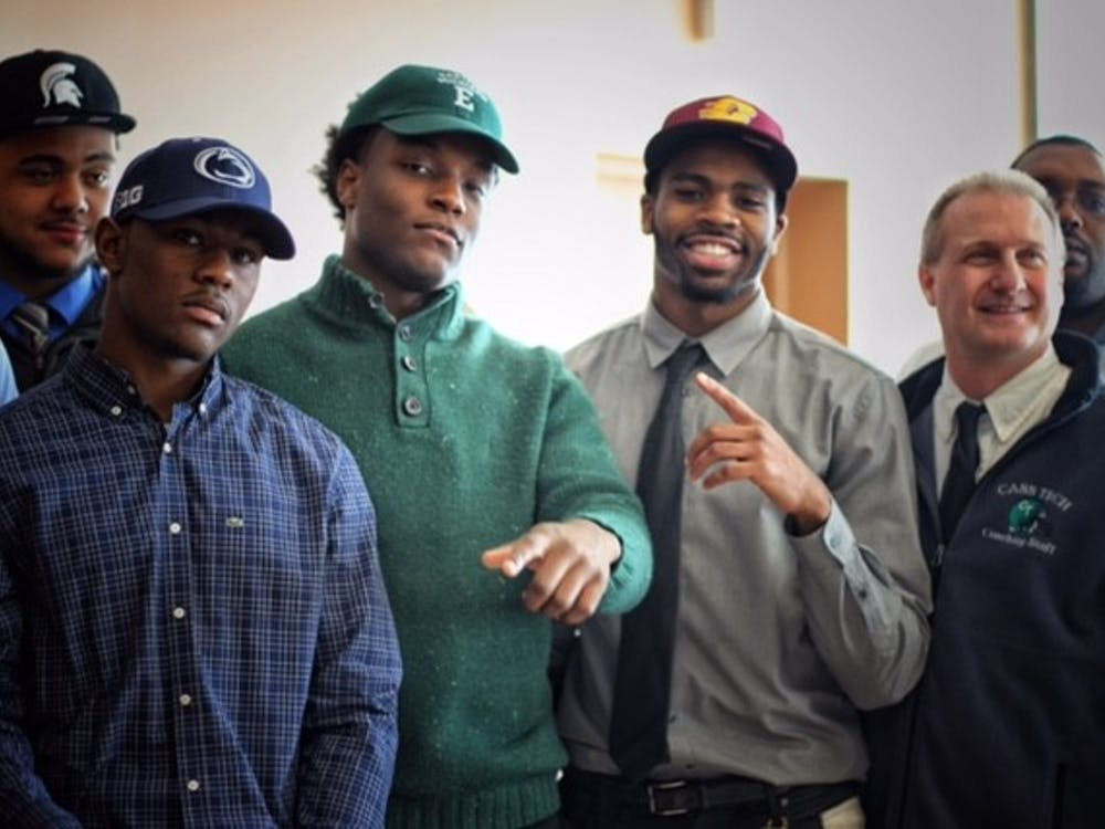 Earlier this month,16 Technicianssigned to Power 5, Division I and Division II schoolsduring National Signing Day held at The Horatio Williams Foundation downtown Detroit.