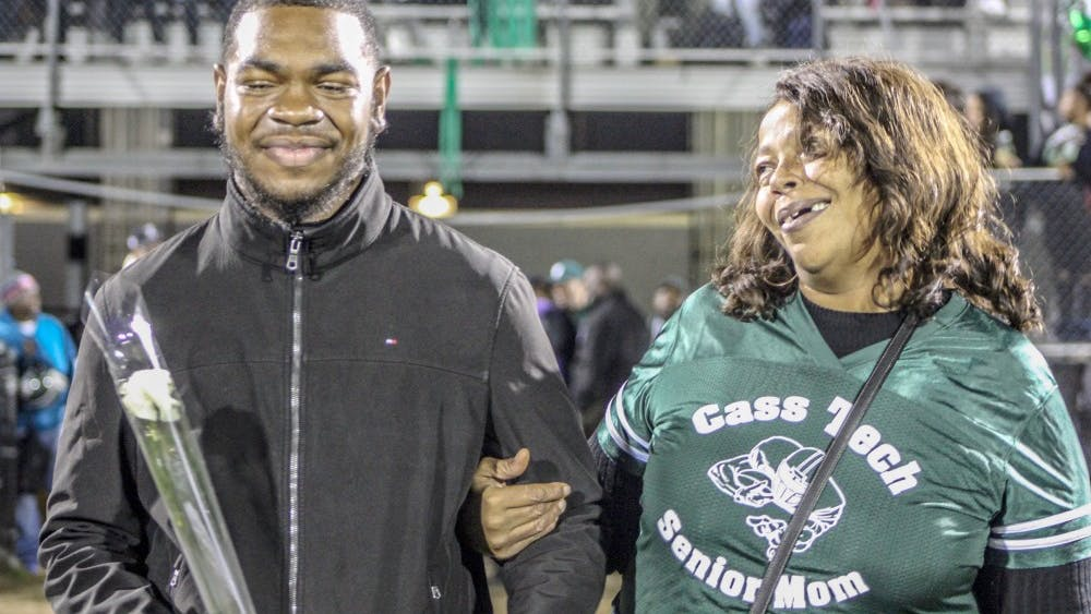 """Former Cass Tech football player Terry Irby faced dialysis until receiving a kidney transplant. """"I went to hospital in a three-piece suit and went into surgery and received my kidney,"""" Irby said."""