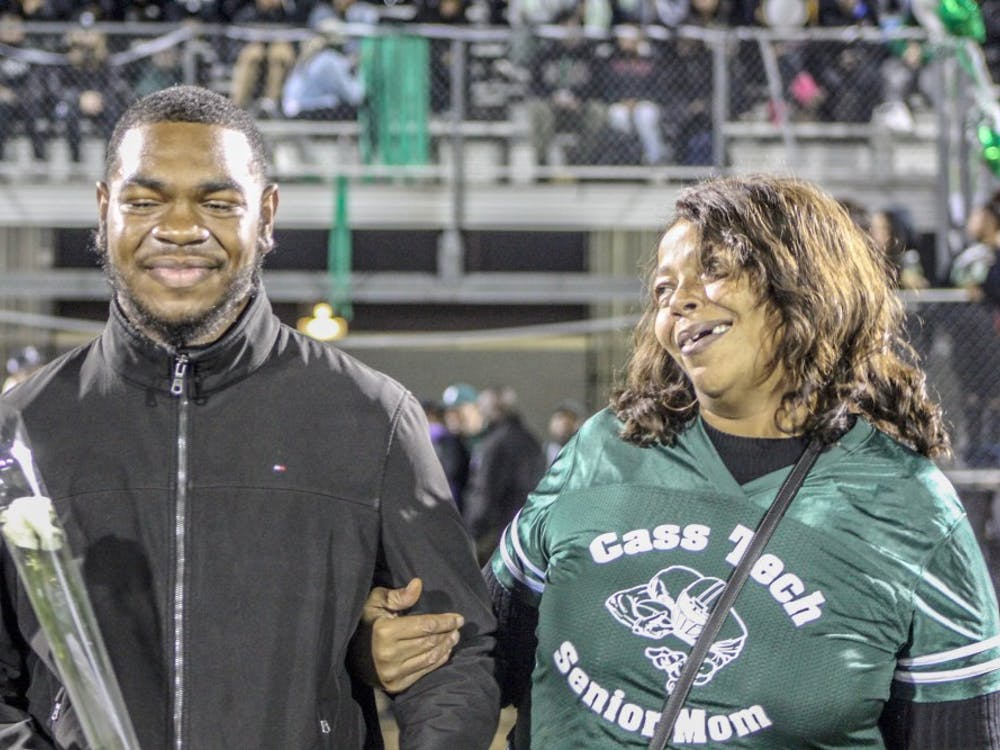 "Former Cass Tech football player Terry Irby faced dialysis until receiving a kidney transplant. ""I went to hospital in a three-piece suit and went into surgery and received my kidney,"" Irby said."