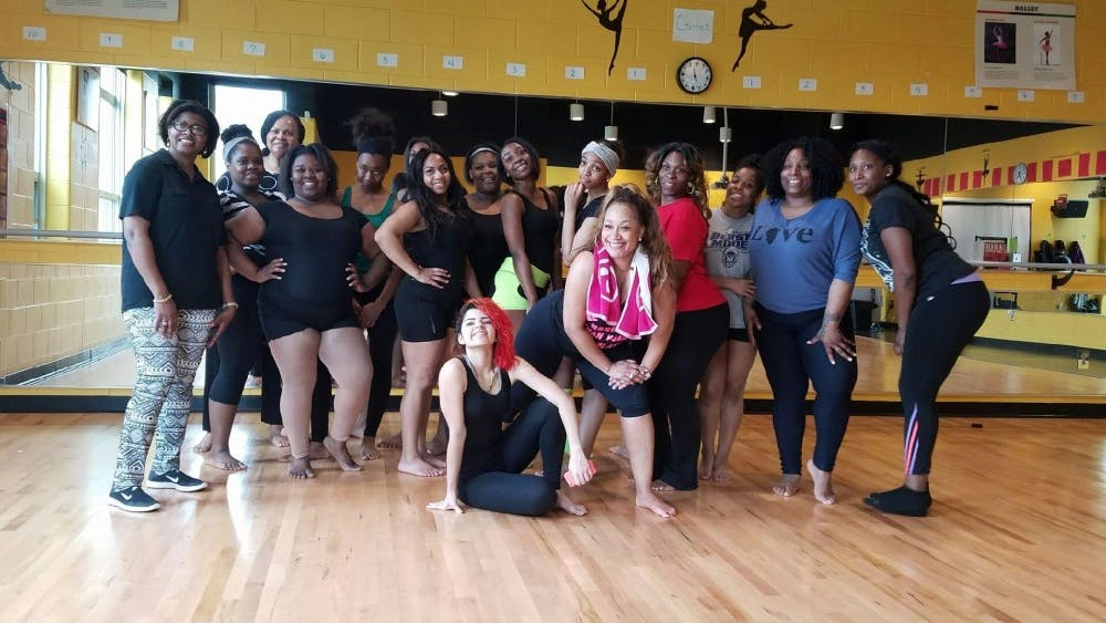 East English Village dance teacher Rosalind Leath, who is also the Michigan Delegate for National Dance Week hosted a Dance Awareness Zumba class for staff, parents, students and the community on April 28.